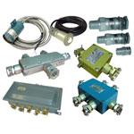 Коробки соединительные, кабельные вводы,  сигнализаторы световые и звуковые